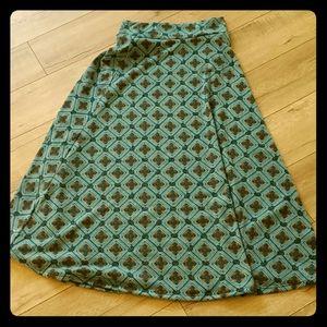LuLaroe style maxi skirt XL